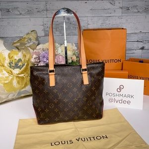 ✅Authentic LOUIS VUITTON Cabas Piano Tote